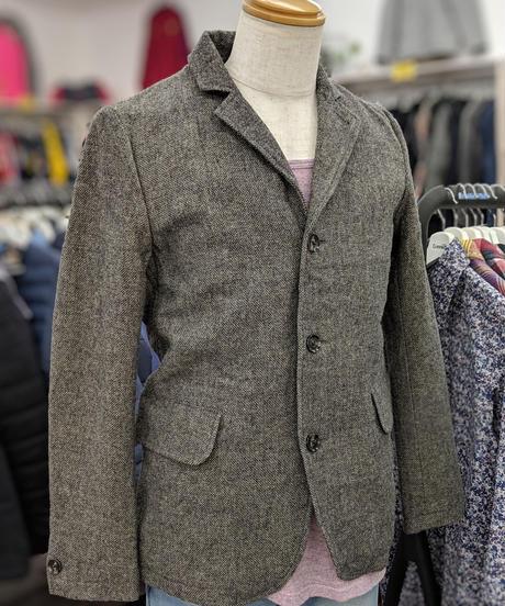 marinero ヘリンボーン柄ウールジャケット サイズ2(S相当)(308)