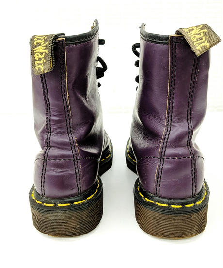 【Ladies】Dr.Martens 8HOLEブーツ パープル UK3(22cm相当)(315)