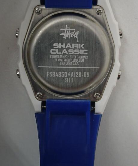 STUSSY Stussy×Shark Classic Watch(Wa02)