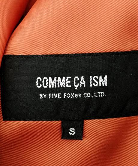 COMME CA ISM ショールカラーウールコート Sサイズ(311)