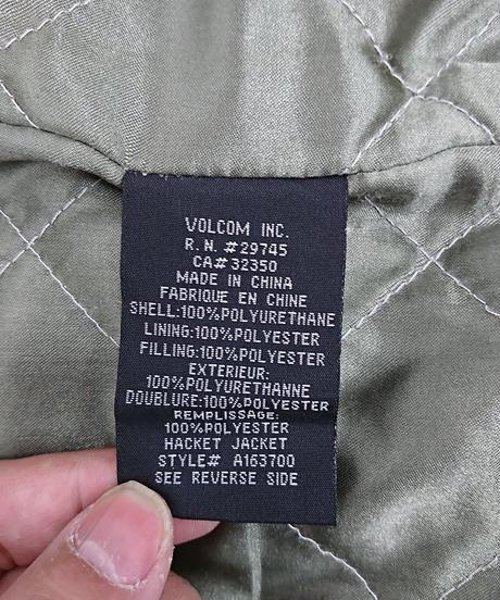 VOLCOM フェイクレザージャケット(139)