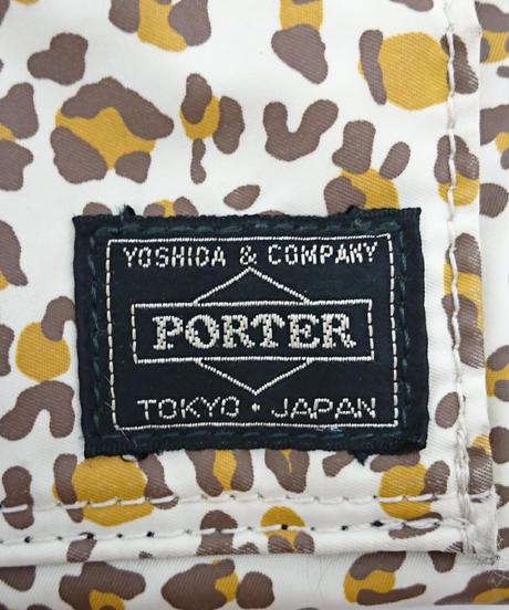 PORTER × X- girl × ZOZOTOWN LEOPARD WALLET(Sa13)