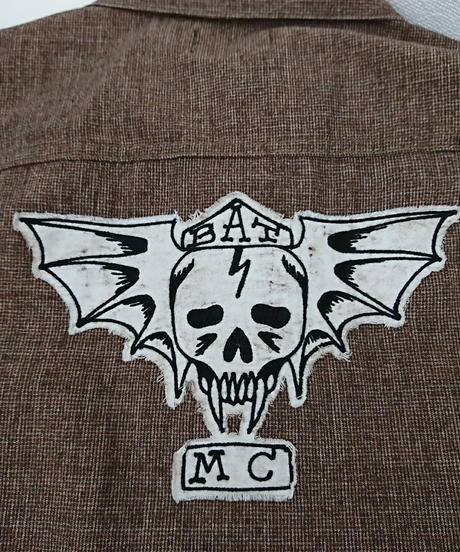 GANGSTERVILLE BAT MC VEST & PANTSセット(162)