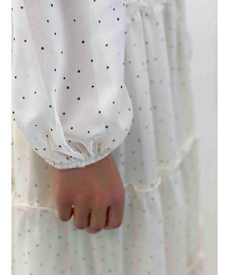 diploa   DOT RUFFLE DRESS