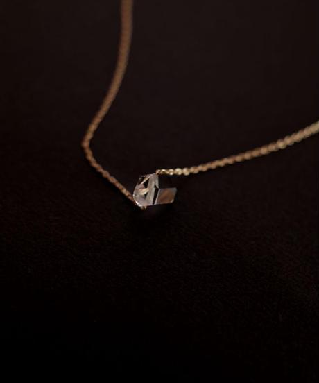 k10 necklace ハーキマーダイヤモンド