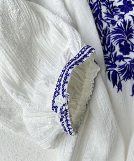 <women>ne Quittez pas(ヌキテパ)刺繍ワンピース / オフホワイト