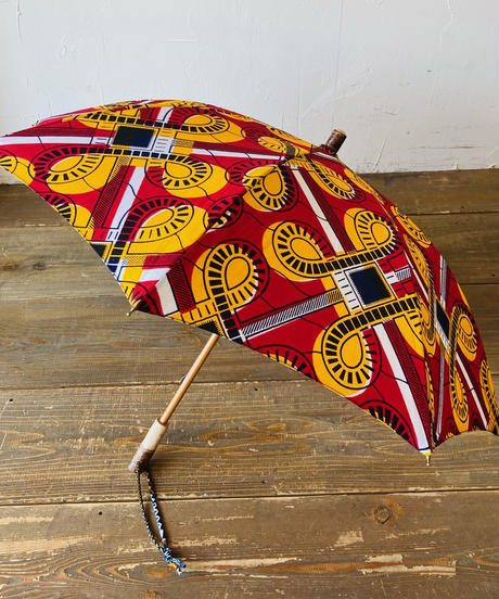 <women>Bon Bon Store(ボンボンストア) アフリカンバティック 日傘/BON-21014-9