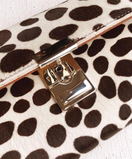 <women>isola(アイソラ)ギャルソン型長財布・へカーフ三段錠(3923)   / ダルメシアン