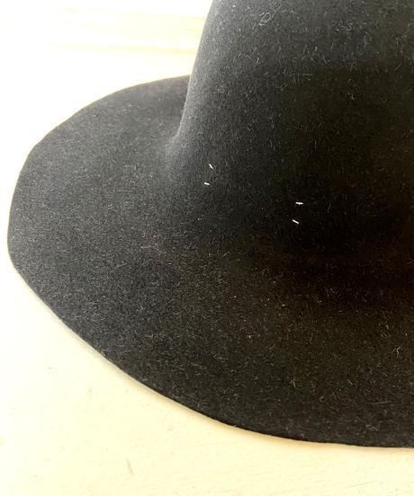 <unisex> Nine Tailor(ナインテーラー)Hand made Hatフェルトハット / BLACK