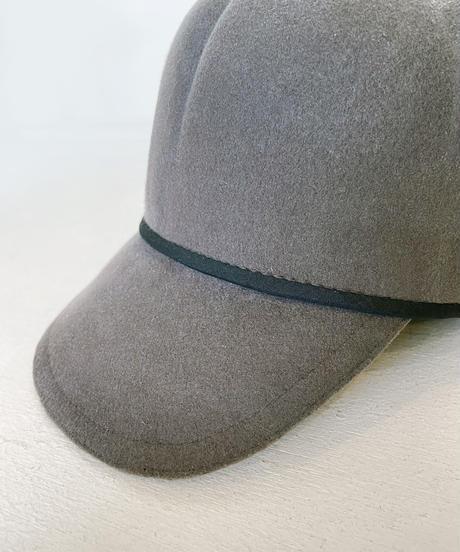 <unisex> Nine Tailor(ナインテーラー)Botry Cap フェルトキャップ / グレー