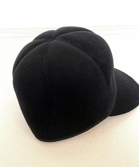 <unisex> Nine Tailor(ナインテーラー)Botry Cap フェルトキャップ / ブラック