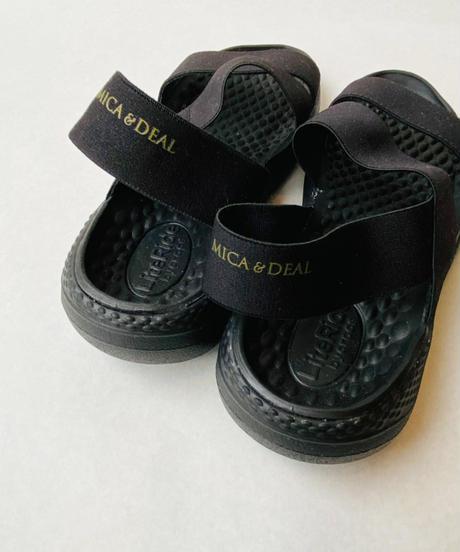 <women> MICA&DEAL(マイカ&ディール)×CROCS(クロックス) コラボサンダル / ブラック