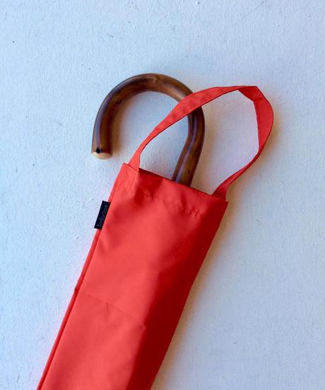<unisex>Bon Bon Store(ボンボンストア) スタンダード長傘(雨傘)/レッド