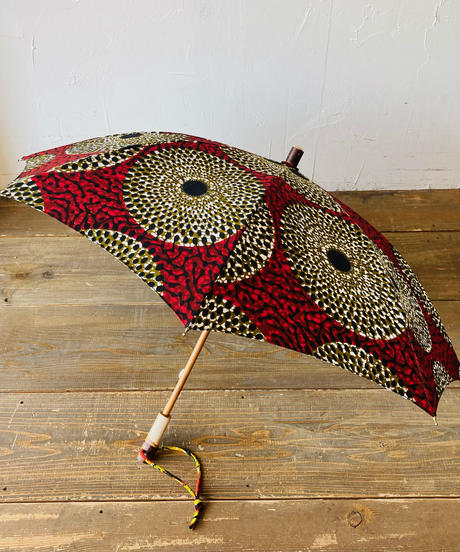 <women>Bon Bon Store(ボンボンストア) アフリカンバティック 日傘/BON-21014-11