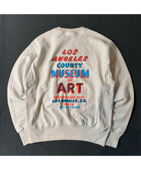 LACMA LOS ANGELES COUNTY MUSEUM OF ART REVERSE WEAVE SWEATSHIRT