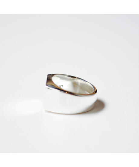 Counter Signet Ring Silver925