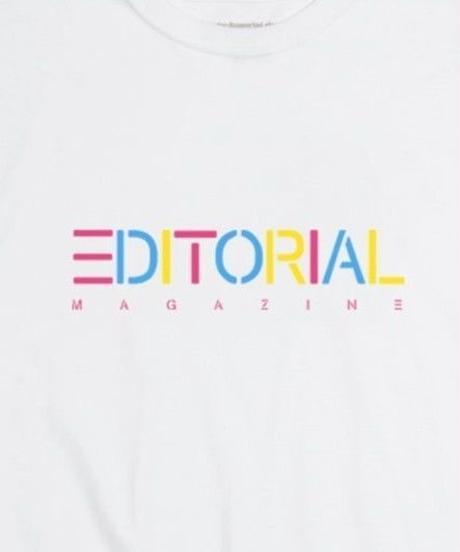 Editorial Magazine Rainbow Editorial Longsleeve White