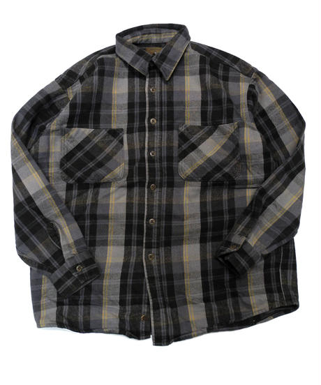90's St.John's Bay Plaid Longsleeve Flannel shirt[C-233]