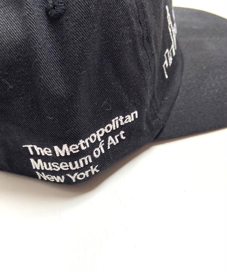 THE MET New York Skyline Cap Black