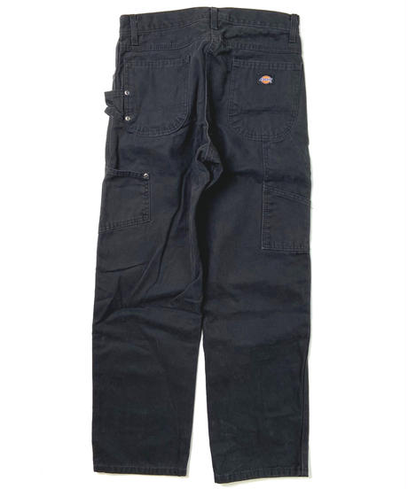Dickies Relaxed Fit Straight Leg Carpenter Duck Jeans Black (RBK)