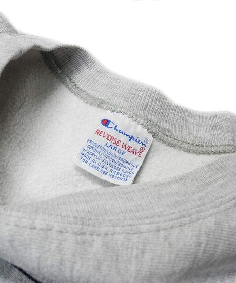 90's Champion Reverse Weave Crew Neck Sweat Shirt