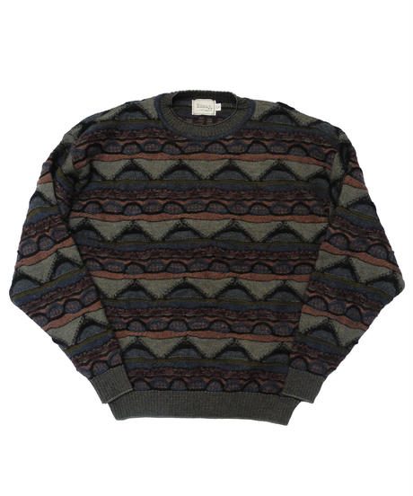 90's Essay Wool Knit Sweater [C-0187]