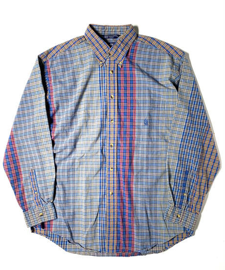 90s Nautica Crazy Pattern Shirts