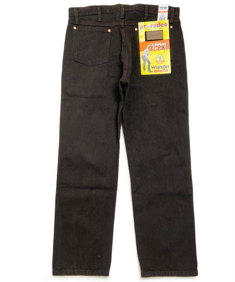 Wrangler Cowboy Cut Denim Black Chocolate