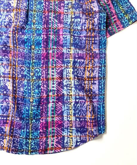 80-90s Eddie Bauer India Madras Shortsleeve Shirt