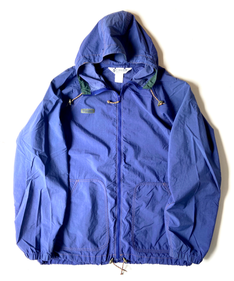 90s columbia hooded nylon jacket