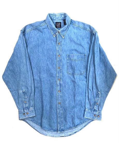 90s Gap Long Sleeve Denim Shirts