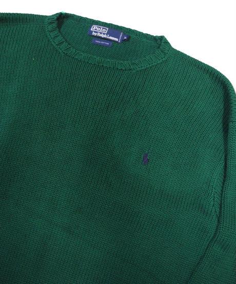 90's Polo Ralph Lauren Cotton Knit Sweater [C-0071]