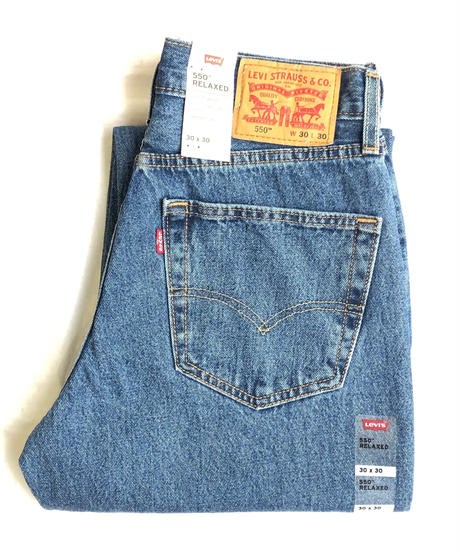 Levi's 550 Relaxed Fit Jeans Stonewash