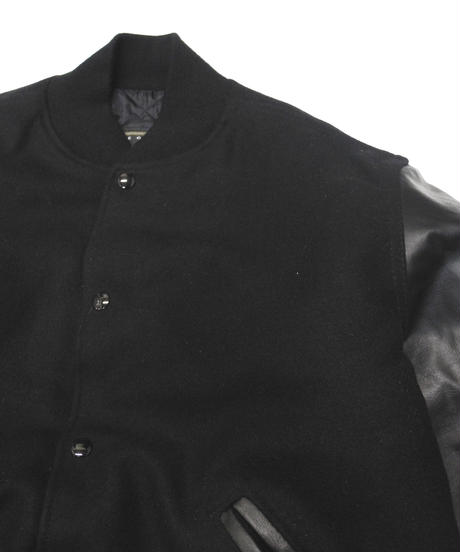 00's Holloway Leather Varsity Jacket  [C-0181]