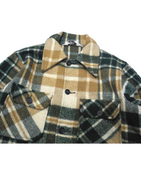70's Woolrich Plaid Wool Jacket[C-0169]