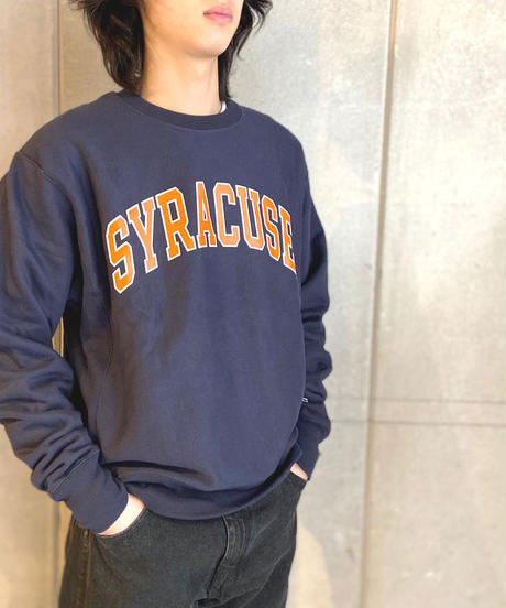 Syracuse University Reverse Weave Crewneck Sweat Shirts