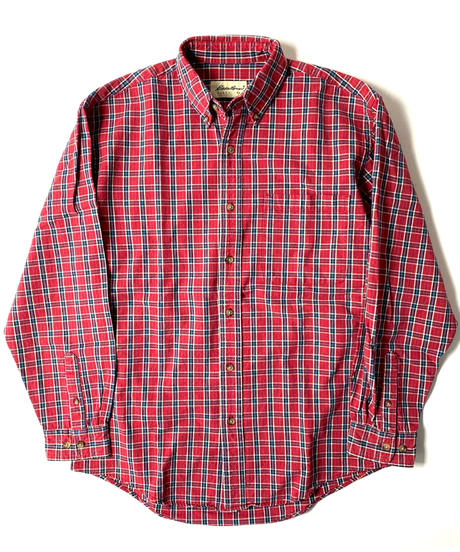 90s Eddie Bauer Long Sleeve Plaid Shirt