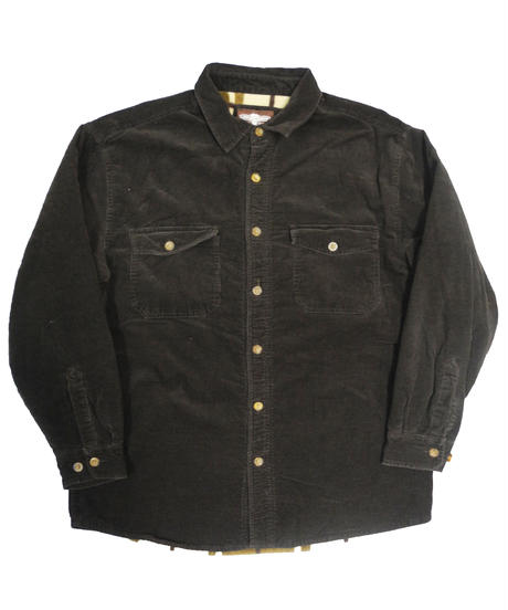 Used Levi's Corduroy Shirt Jacket Fleece Liner [C-0033]