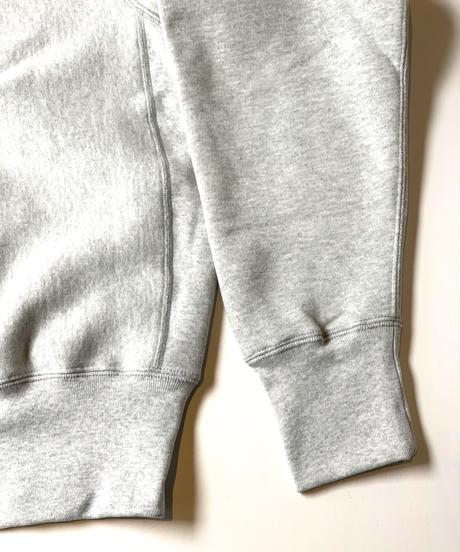 Camber Sportswear Cross-Knit Heavyweight Sweatshirt Grey