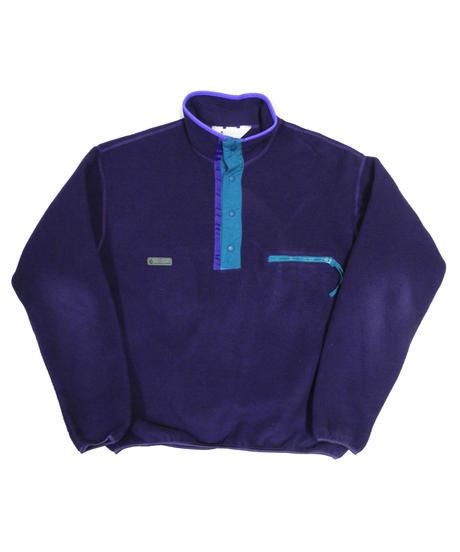 90's Columbia Pullover Fleece Jacket [C-0040]