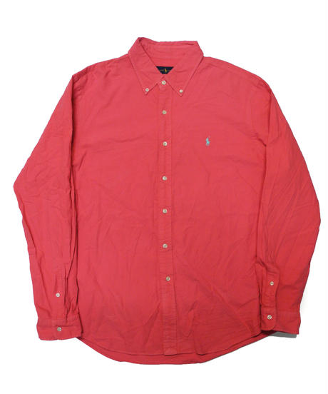 00's Polo Ralph Lauren Long Sleeve Shirt  [C-0150]