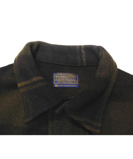 60's Pendleton Plaid Wool Jacket[C-0171]