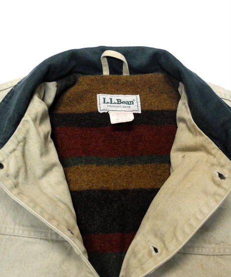 70's L.L.Bean Blanket LIned Coverall [C-0173]