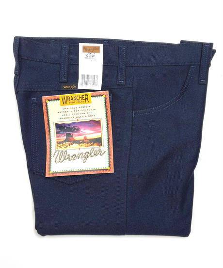 Wrangler Wrancher Dress Jeans Navy
