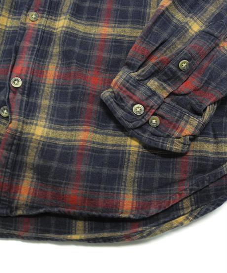 90's Carhartt Plaid Flannel shirt[C-218]