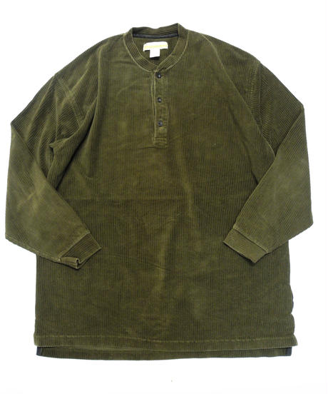 00's Perry Ellis Corduroy Pullover shirt[C-215]