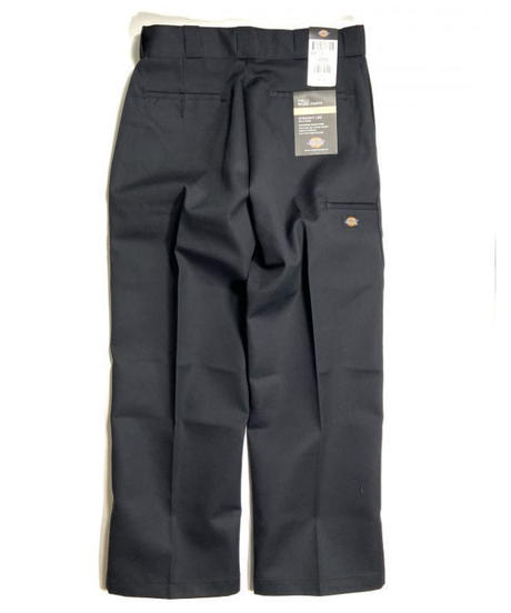Dickies Loose Fit Double Knee Work Pants Black (BK)