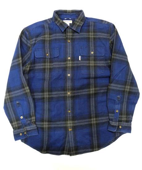 00's Carhartt Plaid Flannel shirt[C-229]