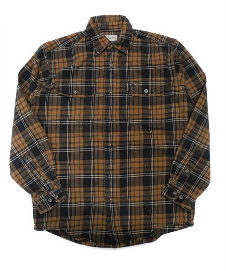 90's Carhartt Plaid Flannel shirt[C-227]