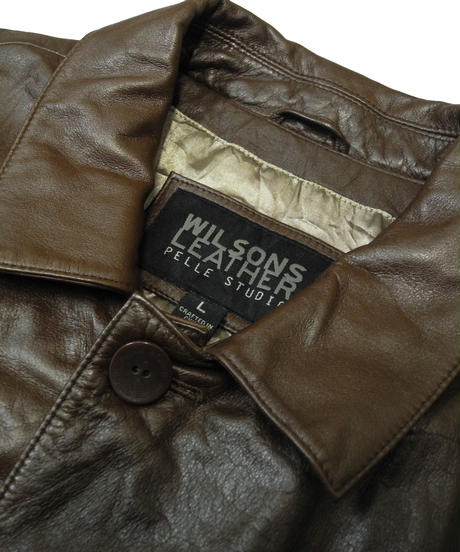 90s Wilsons Leather Leather Jacket [C-0092]